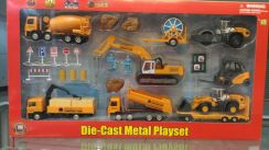 1/64 Diecast Multi Construction Playset 2 (Large)