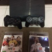 Ps3 superslim fullset and fifa18