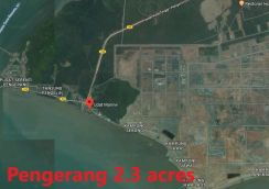 2. 3 acres in Pengerang (Beside Sea)