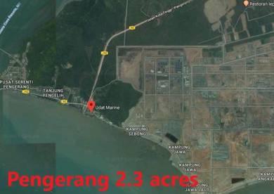 2. 3 acres in Pengerang (Beside Sea)