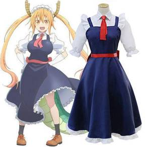 Kobayashi san no maid dragon Tohru cosplay suit