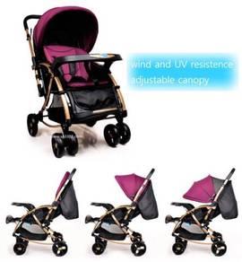 Baby Stroller Rocker (Noble Dark-Red)