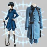 Black butler Ciel coplay costume