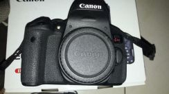 Canon kiss x8i ( 750d) with kit 18 55mm