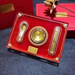 Taifu 999 full gold tableware