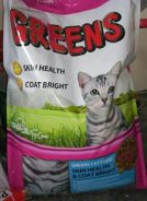Makanan kucing GREEN