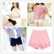 Women Summer Hollow Out Safety Shorts Under Pants