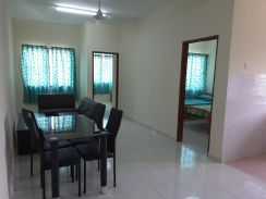 Fully furnished pangsapuri taman tasik utama