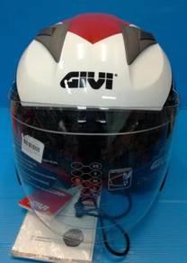 Givi m30.2 open face double visor helmet