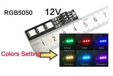 RGB LED Board 5050 12V For FPV RC