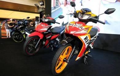 Honda dash 125 free arc helmet+15 items