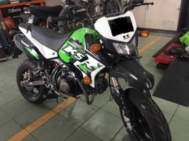 Used kawasaki ksr pro 110