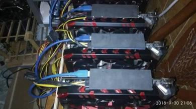 Rx580 8gb rigs x4pcs for mining ethreum