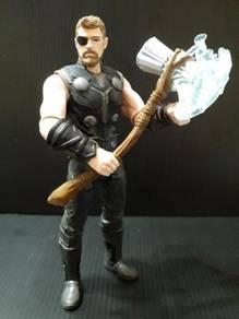 Marvel Avengers Hasbro Thor Custom Repaint New