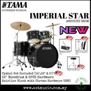 Tama Imperial Star IP52KH6 Drumset Pack W Cymbals