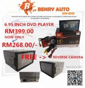 6.95 inch dvd player
