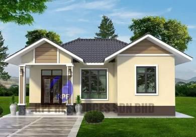Bina rumah rm100k sahaja