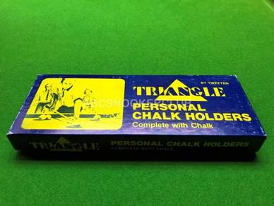 Tweeten Triangle Personal Snooker Chalk Holder