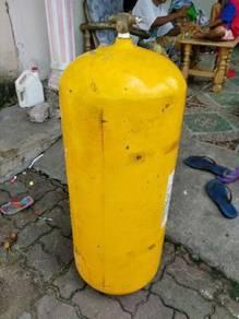 Tong Gas NGV 70 Liter terpakai