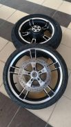 Harley Touring Oem Front and Rear Wheel 2016