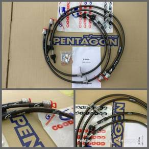 Goodridge UK Brake Hose kit for Honda Civic X FC