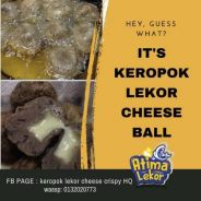 Keropok cheese
