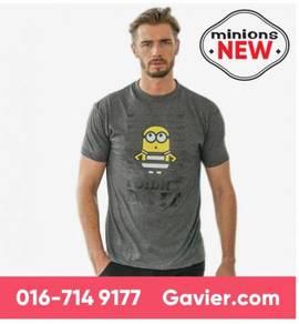 Baju Minions Shirt - Free Shipping Nationwide