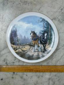 TExp England Plate Piring Lama Vintage Old