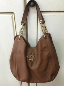 Preloved Michael Kors Leather Handbag