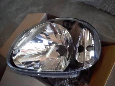 Head lamp lampu kelisa crystal sMoke
