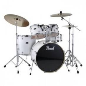 Pearl Export EXX725P/C 5pc Drum Set (Pure White)