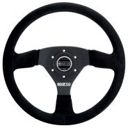 Sparco 333 Steering Wheel Black Suede - 330mm