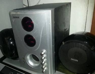 Speaker & power amp