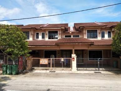 Double Storey at Pandan Perdana Batu 8 near Airport 20x70 Freehold