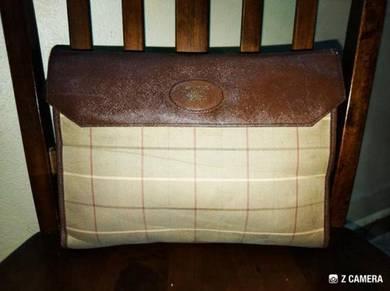 Clutch Bag Vtg Burberrys