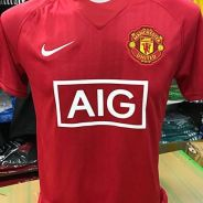 Manchester United Home Jersey Nike 2007 Repro