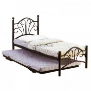 Single with Pull Out Metal Bed Frame (OK9003)