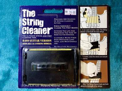 The String Cleaner For Bass Guitar USA