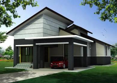 Rumah Banglo Kg. Kubang Palas (Pasir Pekan)