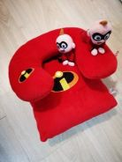 The incredibles mini cushion n neck pillow