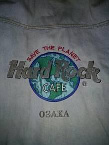 Hard Rock Cafe Osaka .Denim Jacket - Vintage 1997