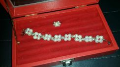 Pearl Bracelets & Pearl Ring