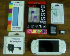 PSP full set with 40 game & 1 month WARRANTY (N)