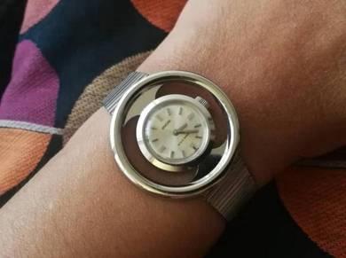Vintage NOS ENICAR Art Deco Swiss Made Watch