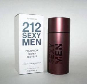 Perfumes tester ori 212 sexy men
