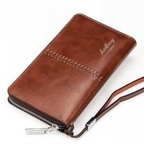 Baellery Genuine Leather Men's Clutch Wallet