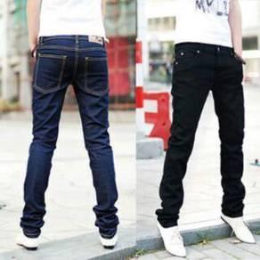 DRTS378 Korean Slim Fit Men Jeans Pants