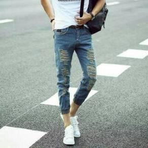 Drts364 denim jogger jeans