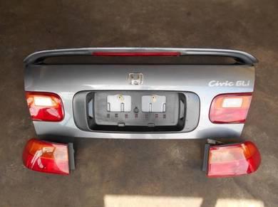 Bonet blkg complete lampu Honda EG sr4