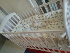 Brand new baby cot with bedding sets